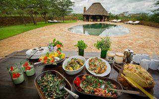 Food to taste during a Tanzania Safari