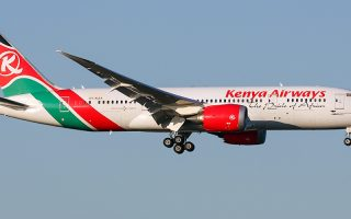 Kenya Airlines starts direct flights to USA