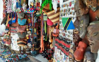 Where to get souvenirs around Tanzania